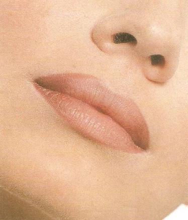 Коррекция губ. Вариант 1.