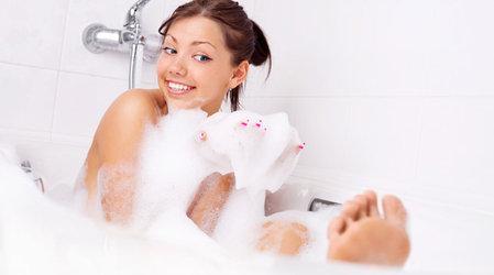 Как сделать свою пену для ванной