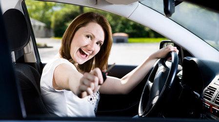 Фитнес не выходя из автомобиля