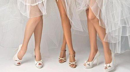 Туфли на свадьбу: выбираем обувь для принцессы